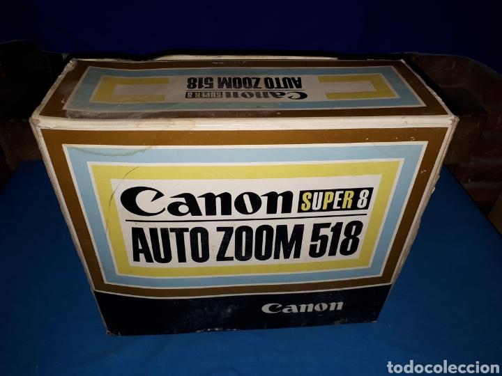 Antigüedades: CAMARA VIDEO CANON SUPER 8 AUTO ZOOM 518 - Foto 14 - 246948975