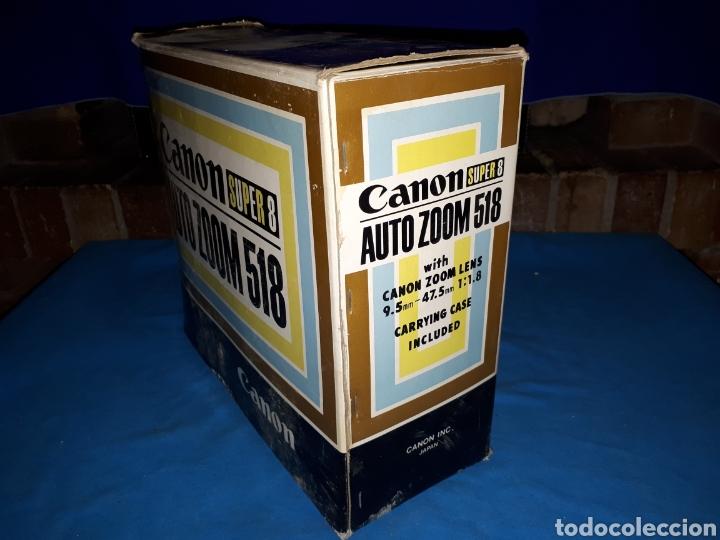 Antigüedades: CAMARA VIDEO CANON SUPER 8 AUTO ZOOM 518 - Foto 15 - 246948975