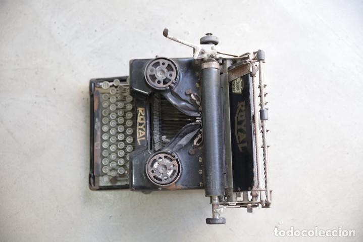 Antigüedades: Maquina de escribir Royal 10 - Foto 3 - 111609567