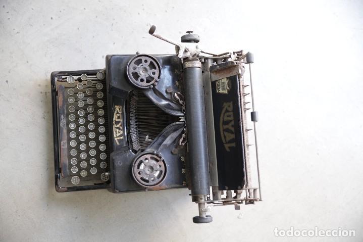 Antigüedades: Maquina de escribir Royal 10 - Foto 4 - 111609567