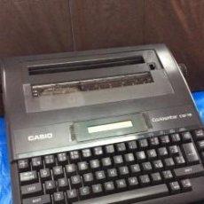 Antigüedades: MAQUINA DE ESCRIBIR CASIO WRITER CW 16 ¡¡¡ AÑOS 90 !!! VINTAGE. Lote 111624491
