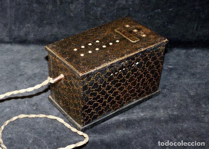 Antigüedades: ELEVADOR REDUCTOR CON LIMITA TENSIÓN. DCA MOD. D-180. AÑOS 30 - Foto 4 - 111662803