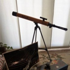 Antigüedades: TELESCOPIO MARCA ZEUS JAPONÉS CON CAJA ORIGINAL . Lote 111677443