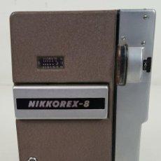 Antigüedades: CÁMARA DE FILMAR. NIKON. NOKKOREX 8 MM. METAL. JAPÓN. CIRCA 1970. . Lote 111758099