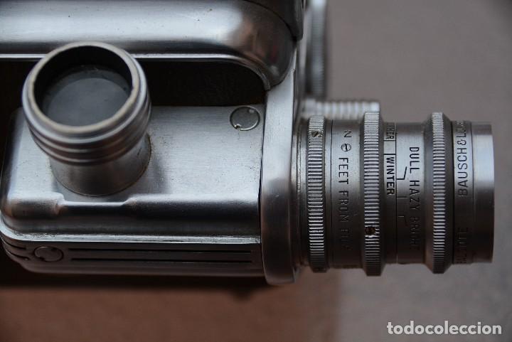 Antigüedades: Cinecamara 16 mm, doble 8.Visor y lente especial. - Foto 2 - 111779699