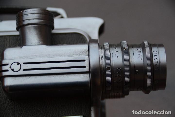Antigüedades: Cinecamara 16 mm, doble 8.Visor y lente especial. - Foto 3 - 111779699