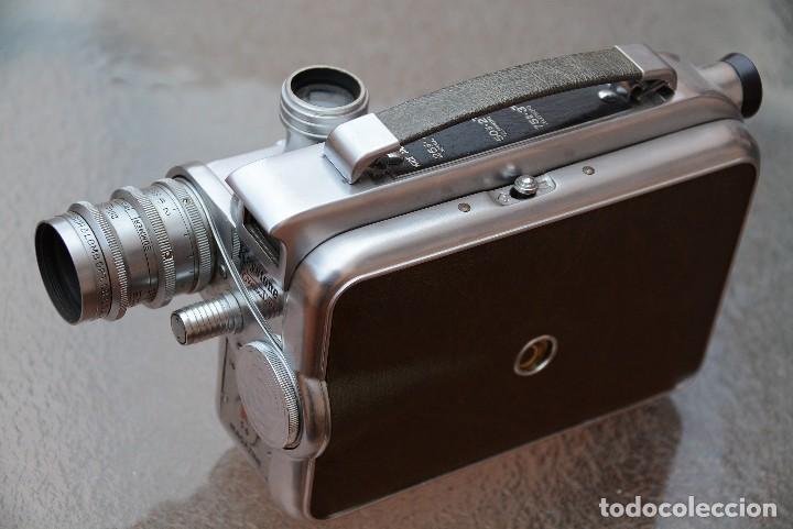 Antigüedades: Cinecamara 16 mm, doble 8.Visor y lente especial. - Foto 5 - 111779699