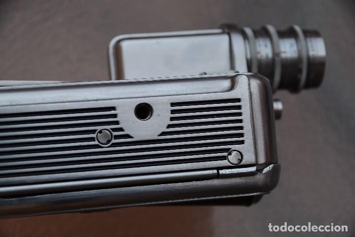 Antigüedades: Cinecamara 16 mm, doble 8.Visor y lente especial. - Foto 8 - 111779699