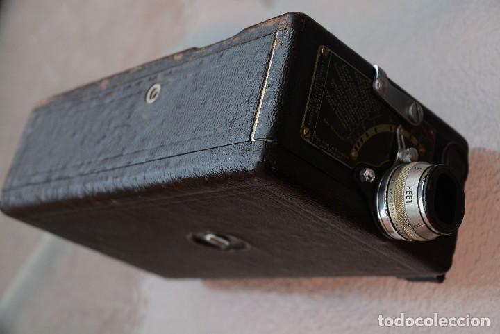Antigüedades: cinecámara 16 mm KODAk.primeros modelos. - Foto 2 - 111780031