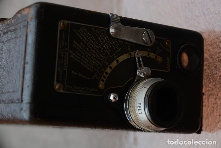 Antigüedades: cinecámara 16 mm KODAk.primeros modelos. - Foto 3 - 111780031