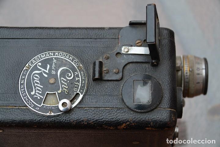 Antigüedades: cinecámara 16 mm KODAk.primeros modelos. - Foto 6 - 111780031