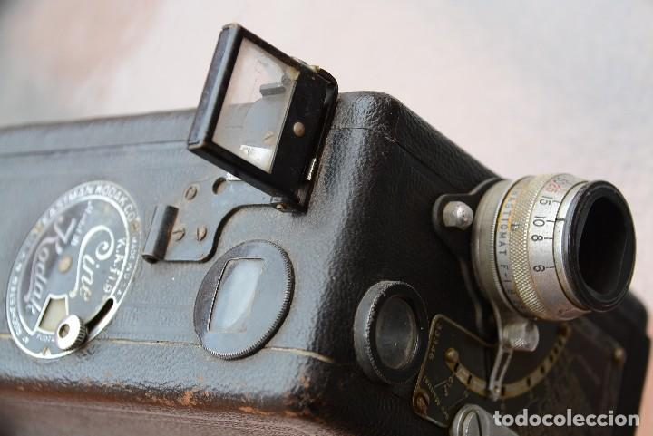 Antigüedades: cinecámara 16 mm KODAk.primeros modelos. - Foto 7 - 111780031