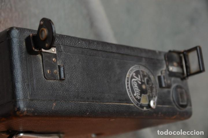 Antigüedades: cinecámara 16 mm KODAk.primeros modelos. - Foto 8 - 111780031