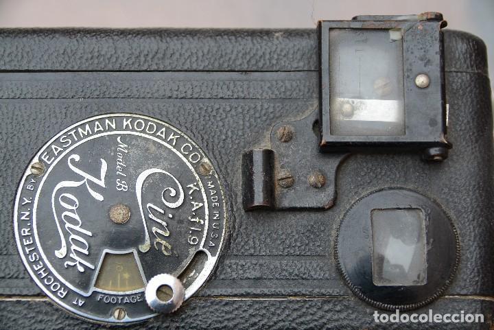 Antigüedades: cinecámara 16 mm KODAk.primeros modelos. - Foto 9 - 111780031