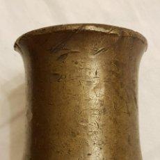 Antigüedades: ANTIGUO YUNQUE TAS DE BRONCE. Lote 111829979