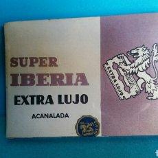 Antigüedades: ESTUCHES DE HOJAS DE AFEITAR SUPER IBERIA EXTRA LUJO PRECINTADA. Lote 111879144