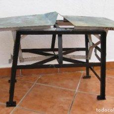 Antigüedades: ANTIGUA BALANZA PLEGABLE (PATENTADA). Lote 111914995