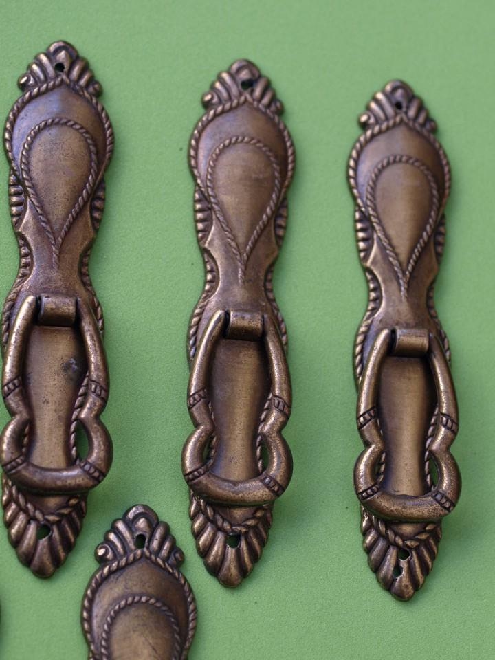 Antigüedades: LOTE 6 TIRADORES (Leed descripción) - Foto 4 - 130275234