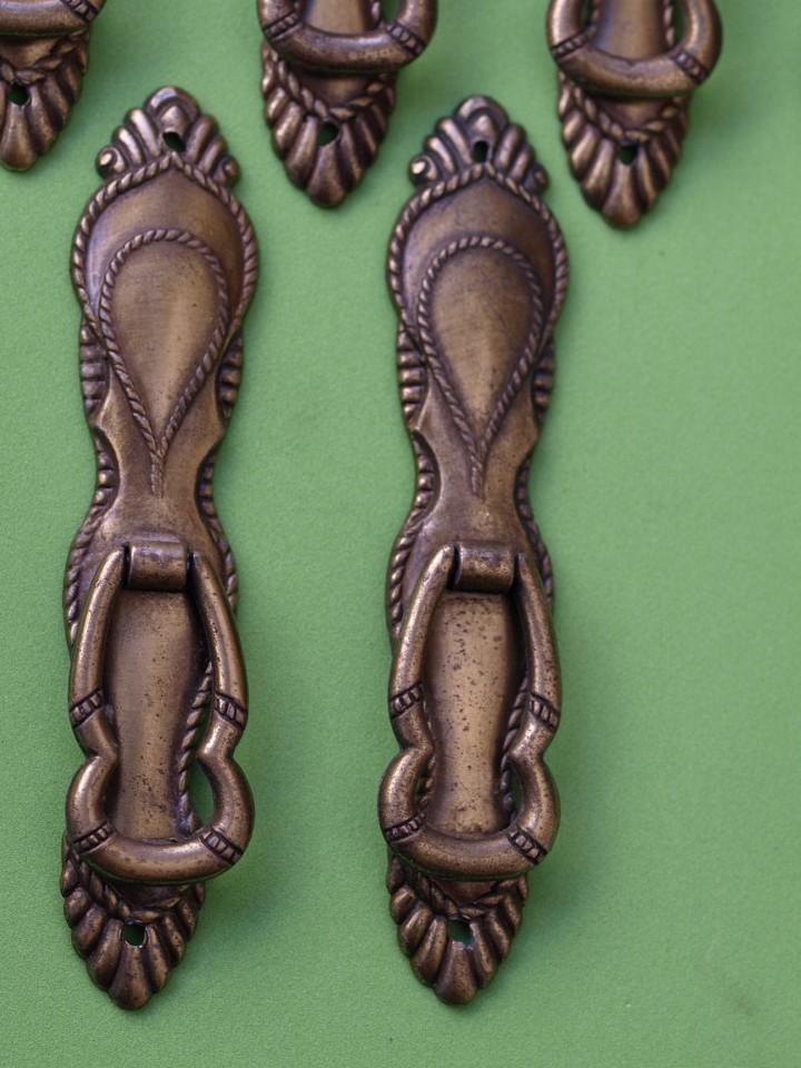 Antigüedades: LOTE 6 TIRADORES (Leed descripción) - Foto 5 - 130275234