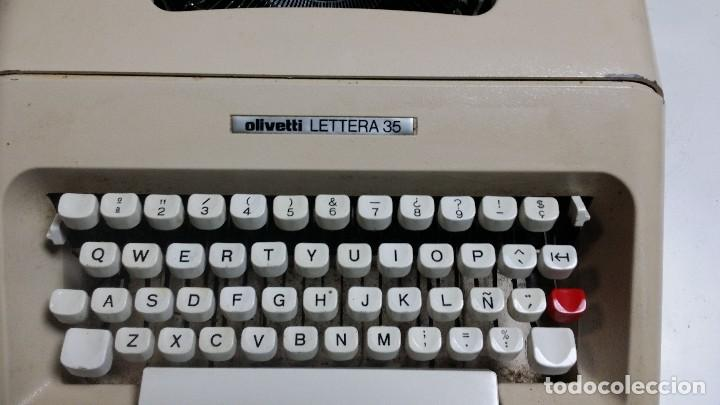 LETTERA 35 CON MALETIN ORIGINAL (Antigüedades - Técnicas - Máquinas de Escribir Antiguas - Olivetti)