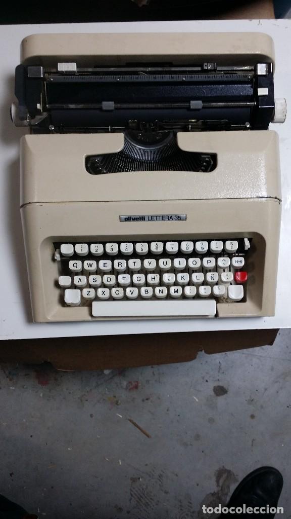 Antigüedades: lettera 35 con maletin original - Foto 2 - 111928347