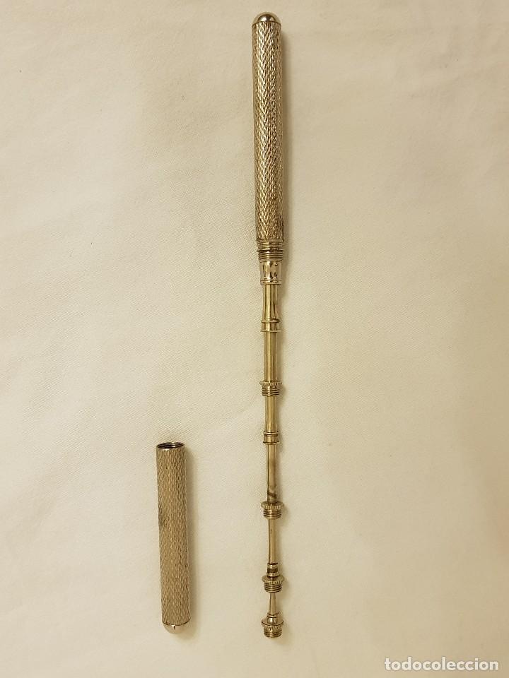 Antigüedades: 3 instrumentos médicos antiguos. 2 marca Clausolles. Principios siglo XX - Foto 3 - 111928623