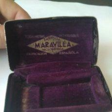 Antigüedades: CAJA ESTUCHE METÁLICA-MARAVILLA / FABRICACIÓN ESPAÑOLA. Lote 112143584