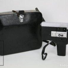 Oggetti Antichi: CÁMARA GRABACIÓN DE SUPER 8 / TOMAVISTAS CANON AUTOZOOM 518 - FUNCIONANDO - FUNDA ORIGINAL. Lote 112299163