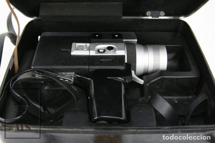 Antigüedades: Cámara Grabación de Super 8 / Tomavistas Canon Autozoom 518 - Funcionando - Funda Original - Foto 4 - 112299163