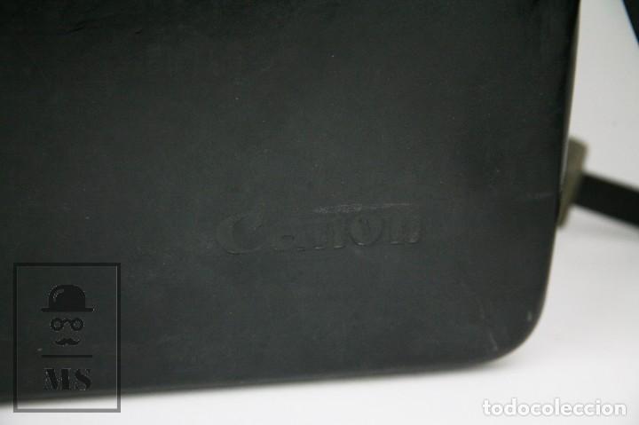Antigüedades: Cámara Grabación de Super 8 / Tomavistas Canon Autozoom 518 - Funcionando - Funda Original - Foto 5 - 112299163