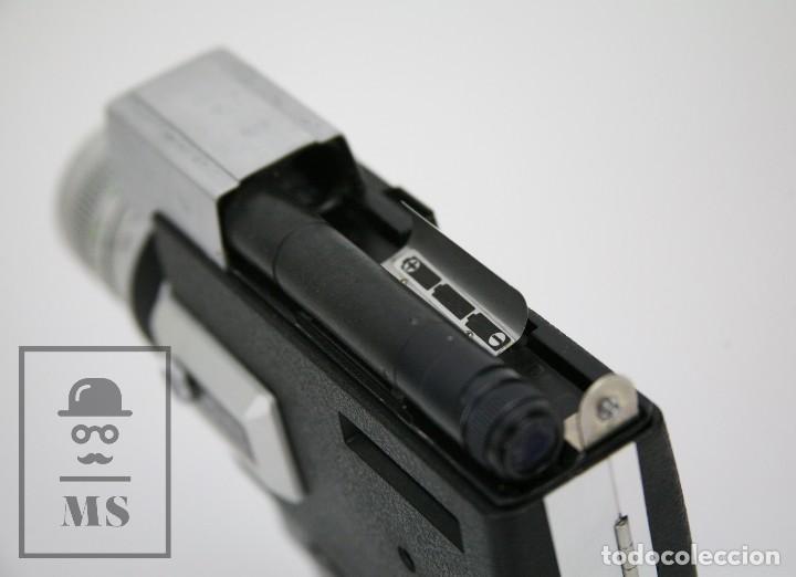 Antigüedades: Cámara Grabación de Super 8 / Tomavistas Canon Autozoom 518 - Funcionando - Funda Original - Foto 10 - 112299163