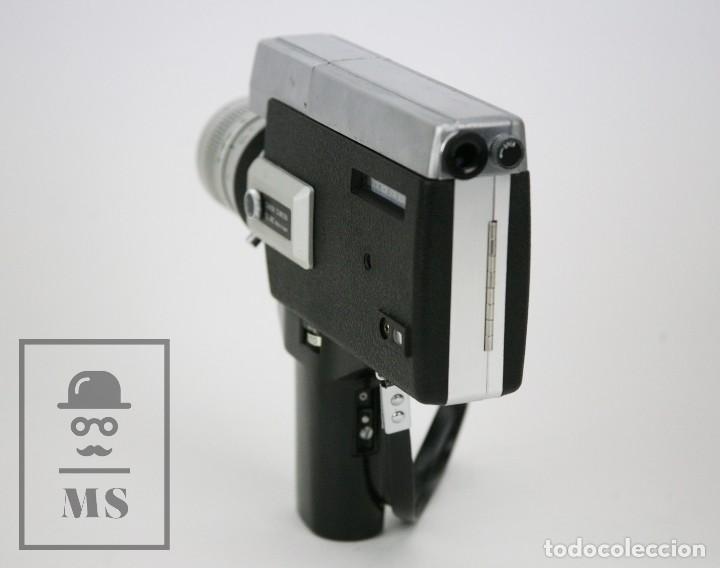 Antigüedades: Cámara Grabación de Super 8 / Tomavistas Canon Autozoom 518 - Funcionando - Funda Original - Foto 11 - 112299163