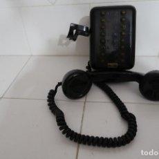 Teléfonos: TELÉFONO ANTIGUO STANDARD ELÉCTRICA, EN METAL NEGRO, CON 16 BOTONES. Lote 112311767