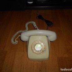Teléfonos: TELEFONO HERALDO CITESA MÁLAGA COLOR GRIS BUEN ESTADO FUNCIONANDO CLAVIJA ADAPTADA AÑOS 70 80. Lote 112337755