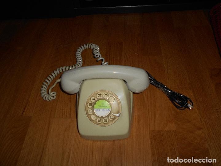 Teléfonos: TELEFONO HERALDO CITESA MÁLAGA COLOR GRIS BUEN ESTADO FUNCIONANDO CLAVIJA ADAPTADA AÑOS 70 80 - Foto 2 - 112337755