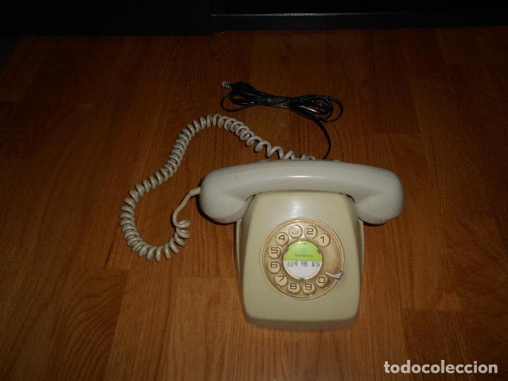 Teléfonos: TELEFONO HERALDO CITESA MÁLAGA COLOR GRIS BUEN ESTADO FUNCIONANDO CLAVIJA ADAPTADA AÑOS 70 80 - Foto 3 - 112337755