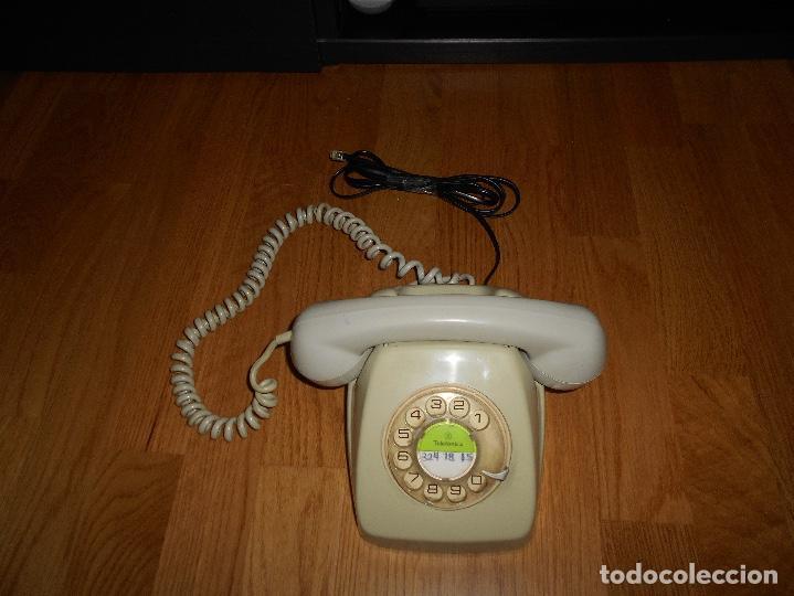Teléfonos: TELEFONO HERALDO CITESA MÁLAGA COLOR GRIS BUEN ESTADO FUNCIONANDO CLAVIJA ADAPTADA AÑOS 70 80 - Foto 4 - 112337755