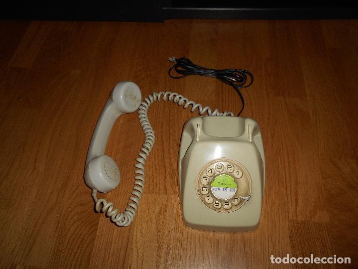 Teléfonos: TELEFONO HERALDO CITESA MÁLAGA COLOR GRIS BUEN ESTADO FUNCIONANDO CLAVIJA ADAPTADA AÑOS 70 80 - Foto 5 - 112337755