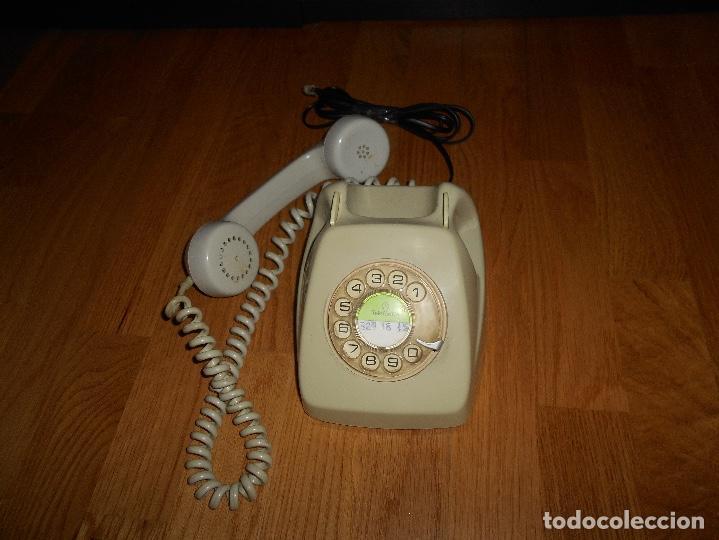 Teléfonos: TELEFONO HERALDO CITESA MÁLAGA COLOR GRIS BUEN ESTADO FUNCIONANDO CLAVIJA ADAPTADA AÑOS 70 80 - Foto 6 - 112337755