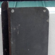 Antigüedades: GALERA METALICA PARA MOLDES DE IMPRENTA. TAMAÑO 46X17 CMS.. Lote 112355759