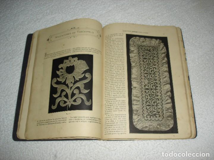 Antigüedades: INSTRUCCIONES PARA BORDAR CON LA MAQUINA SINGER PARA COSER - SRTA DEL ARO 1911 - Foto 7 - 112494015