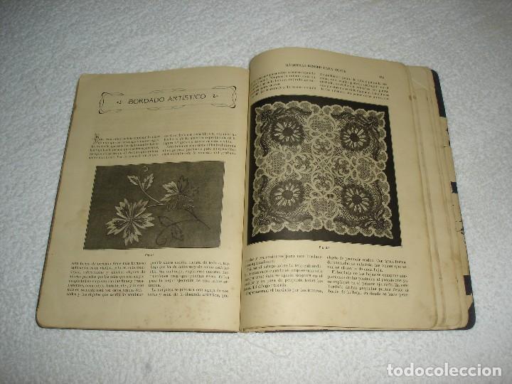 Antigüedades: INSTRUCCIONES PARA BORDAR CON LA MAQUINA SINGER PARA COSER - SRTA DEL ARO 1911 - Foto 8 - 112494015
