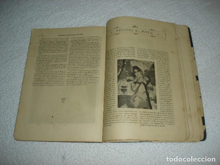 Antigüedades: INSTRUCCIONES PARA BORDAR CON LA MAQUINA SINGER PARA COSER - SRTA DEL ARO 1911 - Foto 9 - 112494015