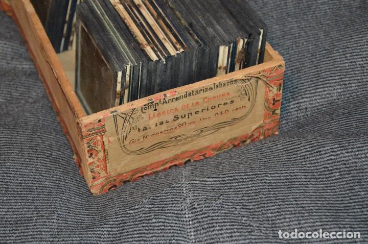 Antigüedades: VINTAGE - GRAN LOTE DE 67 CRISTALES CON FOTOGRAFÍA DE LINTERNA MÁGICA - AÑOS 60 - HAZ OFERTA - Foto 19 - 112508731