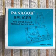 Antigüedades: PANAGOR SPLICER FOR SUPER 8 MM & REGULAR 8 MM Y 16 MM / PANAGOR ENCOLADORA CON MANUAL. Lote 112554472