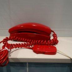 Teléfonos: TELÉFONO MODELO GONDOLA ROJO. Lote 112280047