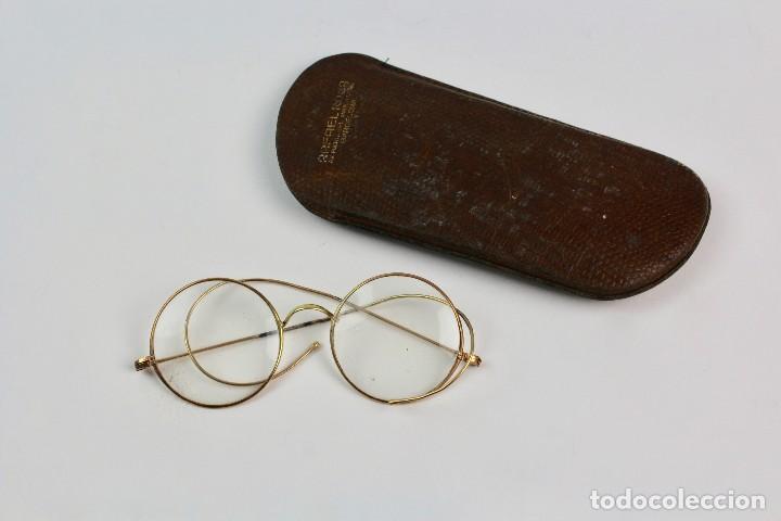 gafas con montura de oro bajo con funda. princi - Comprar Gafas ...