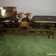 Antigüedades: BONITA BALANZA FUERZA 5 KG MARCA GARAI DEL AÑO 1927 (BE 06). Lote 221761110