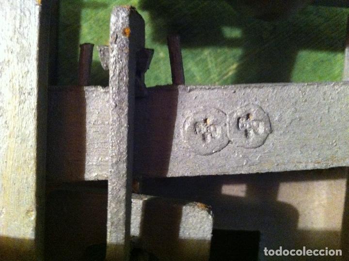 Antigüedades: BALANZA DE COMESTIBLES CON FUERZA 5 KG DE PRINCIPIOS DEL XX (BG 01) - Foto 4 - 112670711