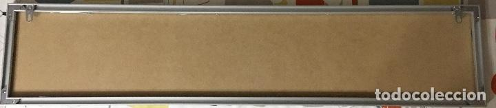 Teléfonos: Excelente y auténtico antiguo cartel cabina de teléfono público Telefónica, con marco de aluminio - Foto 9 - 112681467